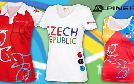 Dámská trička z limitované kolekce Alpine Pro OH