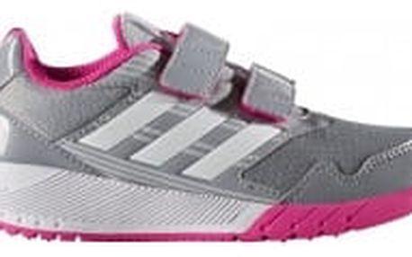 Dětské boty adidas AltaRun CF K 33 MIDGRE/FTWWHT/SHOPIN