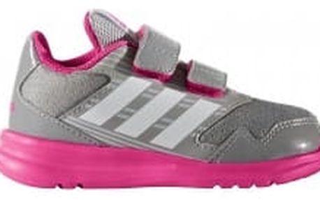 Dětské boty adidas AltaRun CF I 27 MIDGRE/FTWWHT/SHOPIN