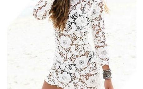 Krajkové plážové šaty - 4 velikosti