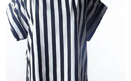 Volné šifonové tričko s veselým vzorem - 6 variant