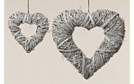 Závěsné srdce Boltze Heart Natura