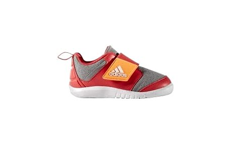 Dětské boty adidas FortaPlay AC I 27 MGREYH/GLOORA/CORPNK