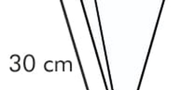 Zdobicí sáček dvojitý DELÍCIA 30 cm, 10 ks, 6 trysek4