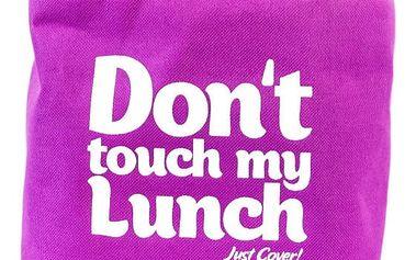 Svačinová taška a 2 boxů Pack & Go Don't Touch My Lunch Violet