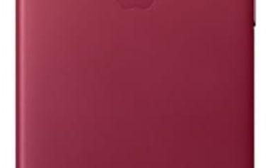 Kryt na mobil Apple Leather Case pro iPhone 7 - malinový (mpvg2zm/a)