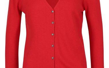 Červený cardigan ONLY Sally
