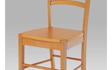 Jídelní židle AUC-004 OL - celodřevěná/olše