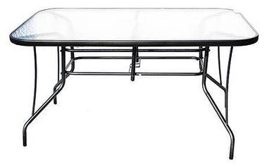 Stůl Rojaplast ZWT 140 černý + Doprava zdarma