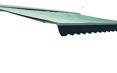 Markýza Rojaplast 4x2,5m s krytem zelená + Doprava zdarma