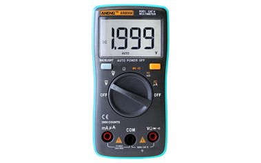 Digitální multimetr s příslušenstvím - AN8004