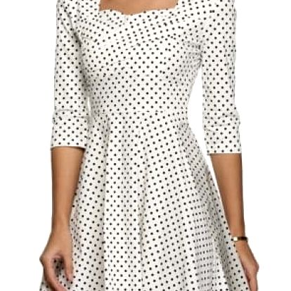 Elegantní šaty v retro střihu - 15 variant