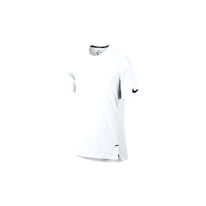 Pánské tričko Nike M NK BRTHE TOP SS ELITE XL WHITE/WHITE/WHITE/BLACK