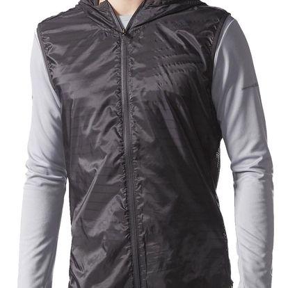 Pánská sportovní vesta adidas Supernova TKO Flock Print Vest Mens XL