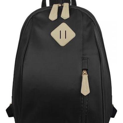 Jednoduchý dámský batoh do města - 4 barvy
