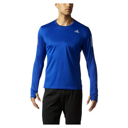 adidas Response Long Sleeve Tee Men M