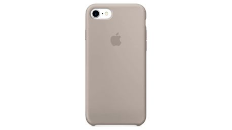 Kryt na mobil Apple Silicone Case pro iPhone 7 - oblázkový (mq0l2zm/a)