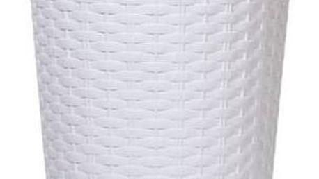 Květináč Prosperplast Rato tubus 30 x 57,2 cm bílý + Doprava zdarma