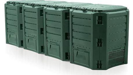 Kompostér Prosperplast Module 1600 l zelený + Doprava zdarma