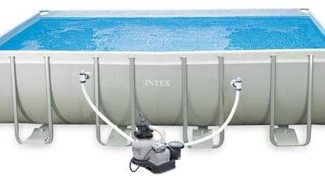 Bazén Intex Frame Set Ultra Quadra I 5,49x2,74x1,32 m včetně kartušové filtrace 5,7 m3/h a příslušenství + Doprava zdarma