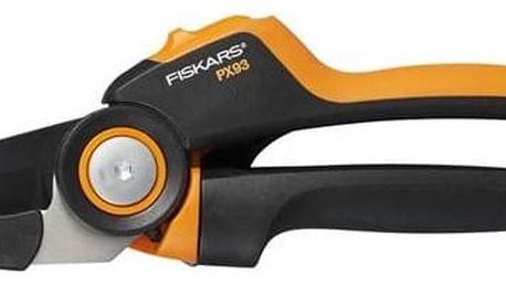 Nůžky zahradní převodové Fiskars PowerGear X jednočepelové (L) PX93 + Doprava zdarma