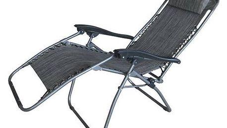 Lehátko Dimenza relaxační šedé + Doprava zdarma