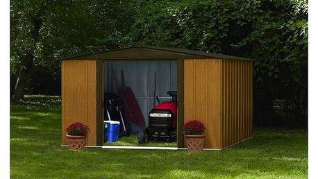 Zahradní domek Arrow Woodlake 1012 + Aku vrtačka Black&Decker EPC14CAB, 2 aku v hodnotě 1 599 Kč + Doprava zdarma