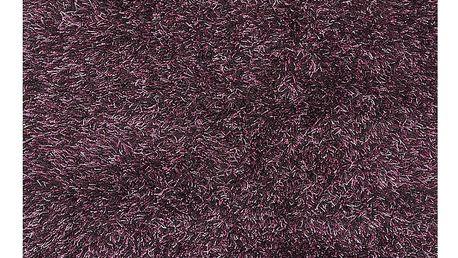 Fialový koberec s dlouhým vlasem Linie Design Sprinkle, 160x230cm - doprava zdarma!
