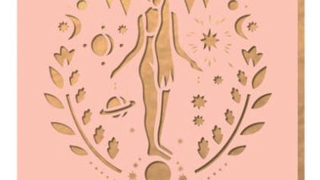 Linkovaný zápisník Portico Designs Panna, 160stránek