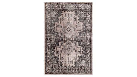 Šedý ručně vázaný vlněný koberec Linie DesignSentimental, 140x200cm - doprava zdarma!