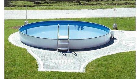 Bazén Steinbach Styria 4,6 x 1,2 m s kovovou konstrukcí vč. písk. filtrace Classic 300, 3,8m3/hod + Doprava zdarma