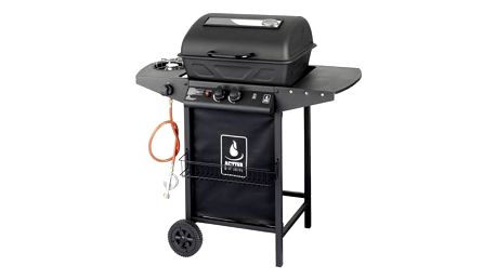 Gril zahradní plynový lávový ACTIVA Lava, s bočním vařičem + Doprava zdarma