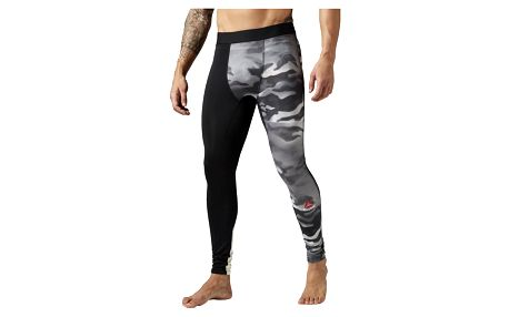 Reebok Spray Camo Compression Tight XS