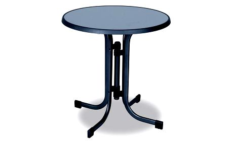 Stůl Rojaplast PIZARRA průměr 70 cm + Doprava zdarma