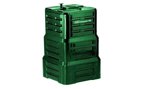 Kompostér AL-KO 390 zelený + Doprava zdarma
