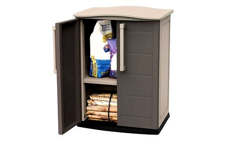 Úložná skříňka Keter BOSTON GARDEN SHED BASE béžová+hnědá