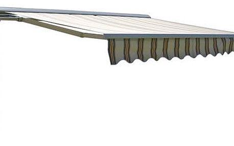 Markýza Rojaplast 3x2m s krytem, pruhy