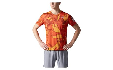 adidas Response Q1 Graphic Short Sleeve Tee Men L