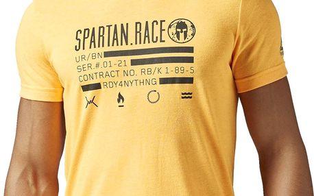 Pánské běžecké tričko Reebok Spartan Race SS Tee M