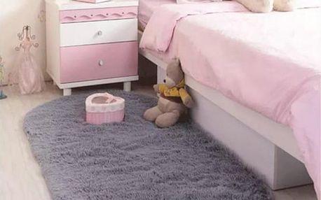 Pohodlný oválný kobereček - dodání do 2 dnů