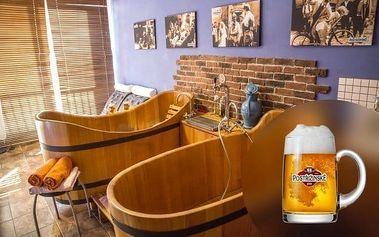 Poděbrady s pivní lázní a procedurami