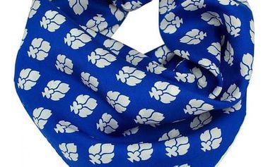 Hedvábný šátek Shirin Sehan - Ines Sea