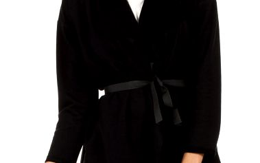 Černý kabátek MOE 102