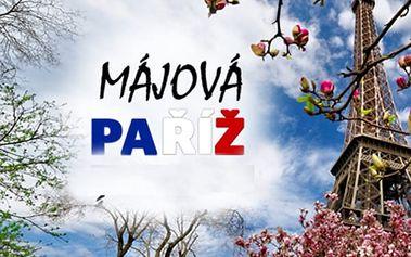2099 Kč za zájezd do májové Paříže 18. - 21.5.2017. Cena včetně dopravy a noclehu