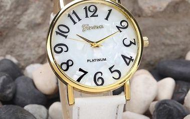 Dámské retro hodinky s velkým číslicemi - 2 barvy
