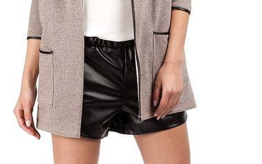 Hnědý kabátek MOE 076