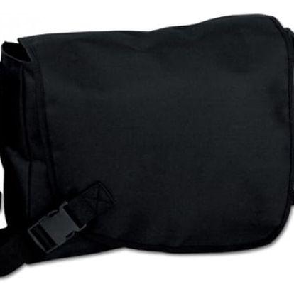 Černá unisex taška přes rameno - dodání do 2 dnů