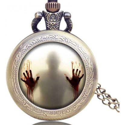 Kapesní hodinky se zombie