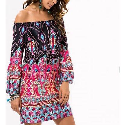 Krátké letní šaty v bohémském stylu - 15 variant