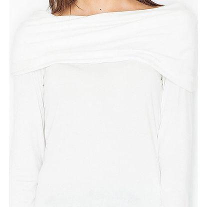 Smetanový pulovr M469